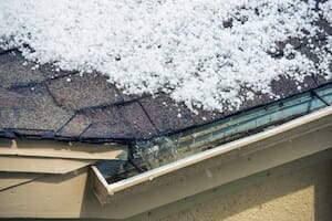 As Sturdy as They Are, How Are Roofs Damaged by Hail?